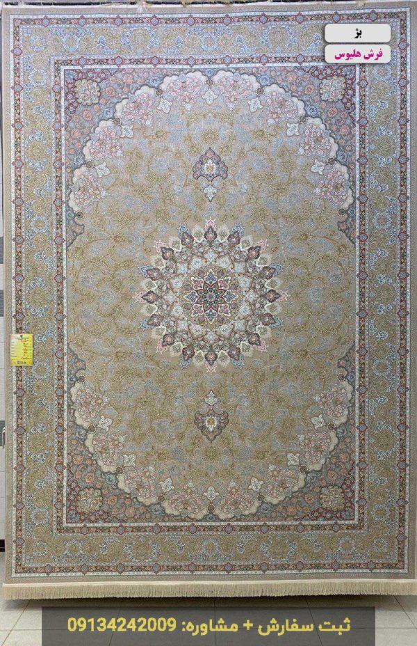 فرش طرح اصفهان بژ