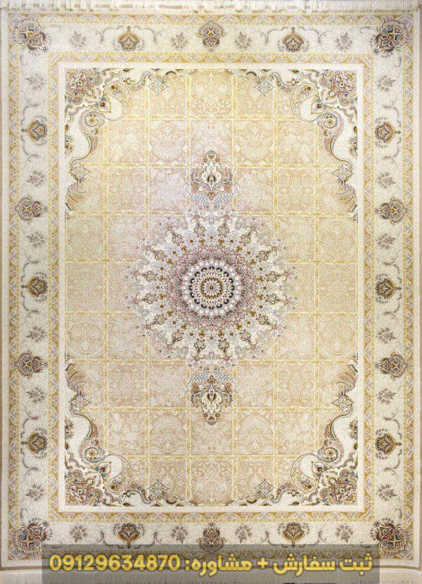 فرش طرح لاله 1500 شانه