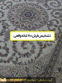 تشخیص فرش ۷۰۰ شانه واقعی